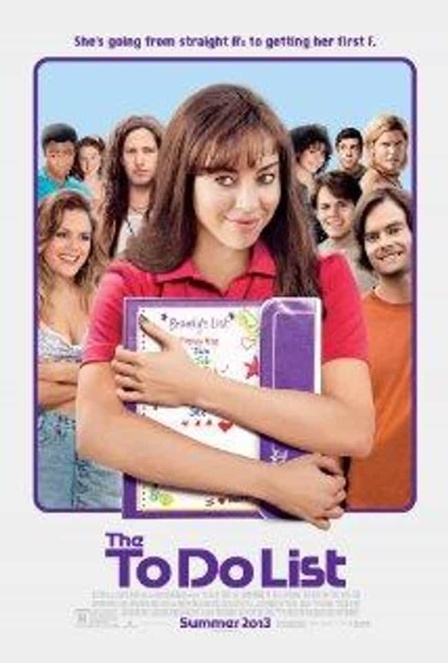 The To Do List is listed (or ranked) 2 on the list The Best Rachel Bilson Movies