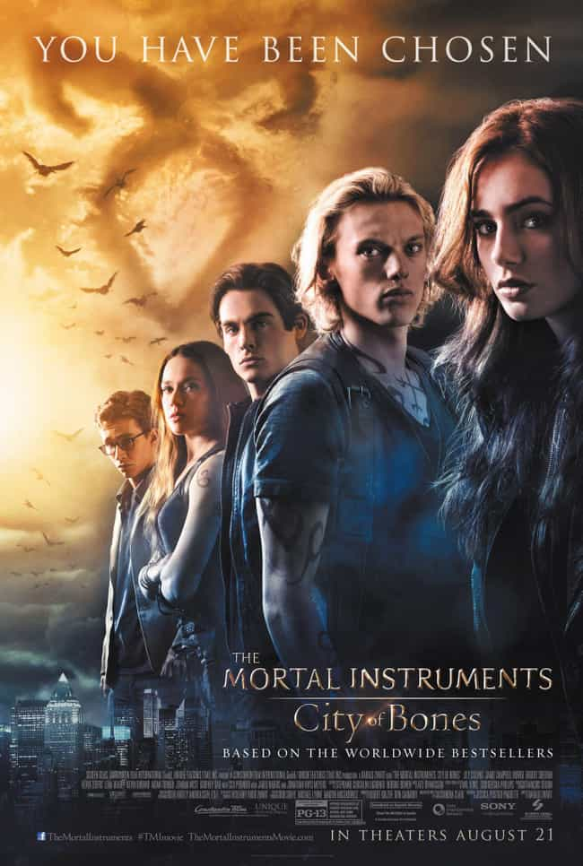 The Mortal Instruments: City o... is listed (or ranked) 4 on the list What to Watch If You Love Maze Runner