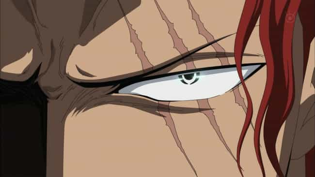 Shanks is listed (or ranked) 2 on the list The Greatest Anime Characters With Scars