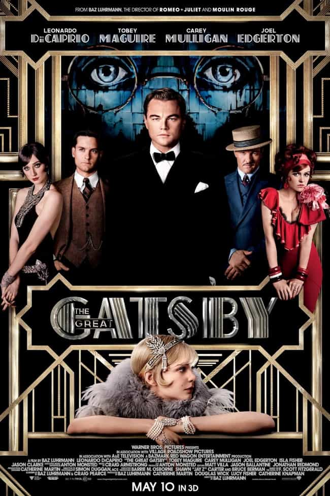 The Great Gatsby is listed (or ranked) 3 on the list The Best Movies for Tauruses