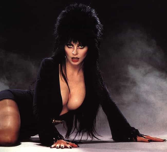 Elvira is listed (or ranked) 2 on the list The Hottest Legendary Creatures