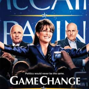 Game Change is listed (or ranked) 22 on the list The Best Political Drama Movies, Ranked
