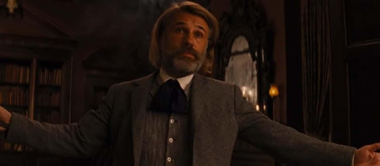King Schultz In 'Django Unchained'