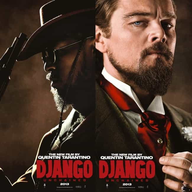 Django Unchained is listed (or ranked) 4 on the list Quentin Tarantino Movies, Ranked Best to Worst