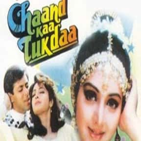 Chaand Kaa Tukdaa is listed (or ranked) 22 on the list The Best Sridevi Kapoor Movies