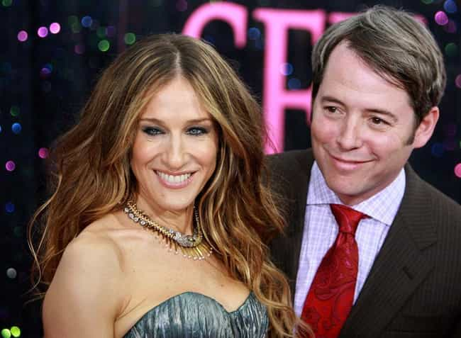 Matthew Broderick is listed (or ranked) 1 on the list Sarah Jessica Parker's Loves & Hookups