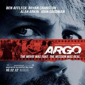 Argo is listed (or ranked) 12 on the list The Greatest Movies About CIA Agents & Operatives