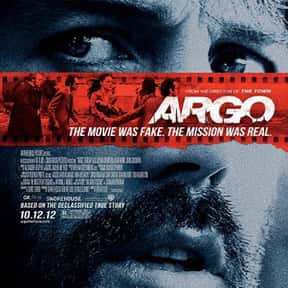 Argo is listed (or ranked) 15 on the list The Best Spy Movies Based on Books