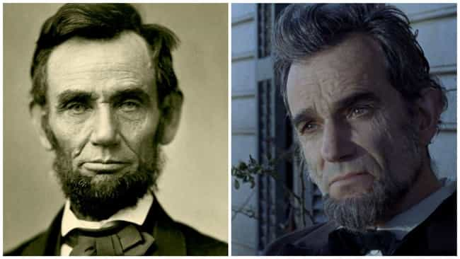 Lincoln is listed (or ranked) 3 on the list The Real People Who Inspired Biopics Vs. The Actors Who Played Them