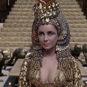 Cleopatra is listed (or ranked) 12 on the list The Greatest Female Characters in Film History