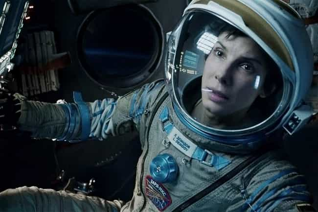 Gravity is listed (or ranked) 6 on the list The Best Movies with Only One Actor