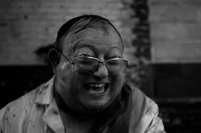 The Human Centipede 2 (F... is listed (or ranked) 3 on the list 10 Horror Movies That Are So Scary, People Can't Even Finish Watching Them