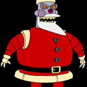 Robot Santa Claus is listed (or ranked) 7 on the list The Funniest Robots of Futurama