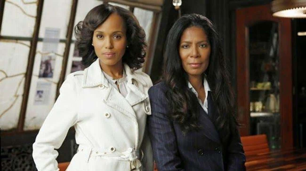 Olivia Pope Played by Kerry Wa is listed (or ranked) 4 on the list 29 Popular TV Characters Who Were Based on Real People