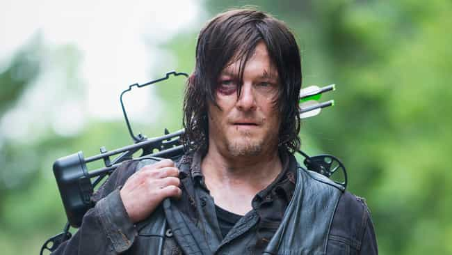 Daryl Dixon is listed (or ranked) 1 on the list 20 Side Characters That Stole the Spotlight