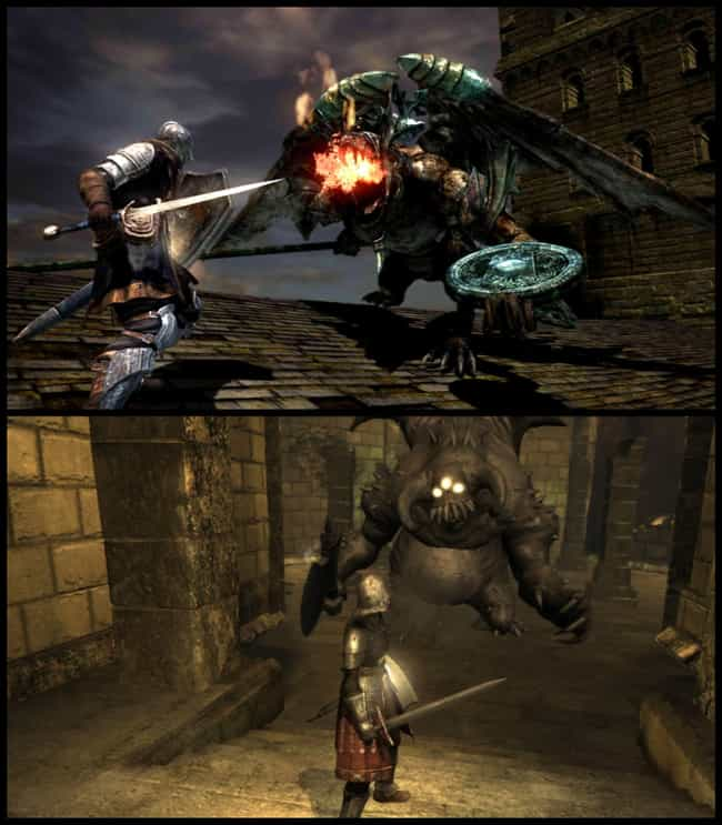 Dark Souls is listed (or ranked) 2 on the list 15 of the Best Spiritual Successor Video Games