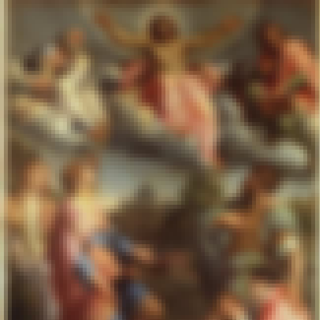 Christ in Glory is listed (or ranked) 3 on the list Famous Annibale Carracci Paintings