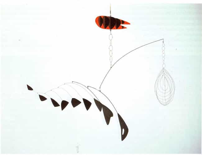 Lobster Trap and Fish Tail is listed (or ranked) 3 on the list Famous Alexander Calder Sculptures