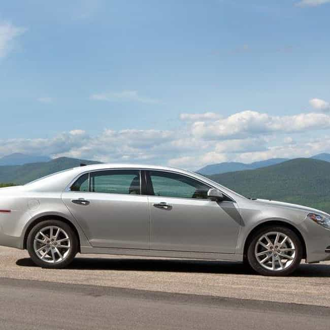 2012 Chevrolet Malibu is listed (or ranked) 1 on the list The Best Chevrolet Malibus of All Time