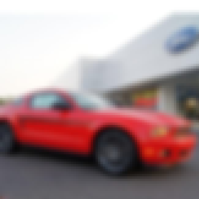 2012 Ford Mustang Coupé is listed (or ranked) 2 on the list The Best 2012 Cars