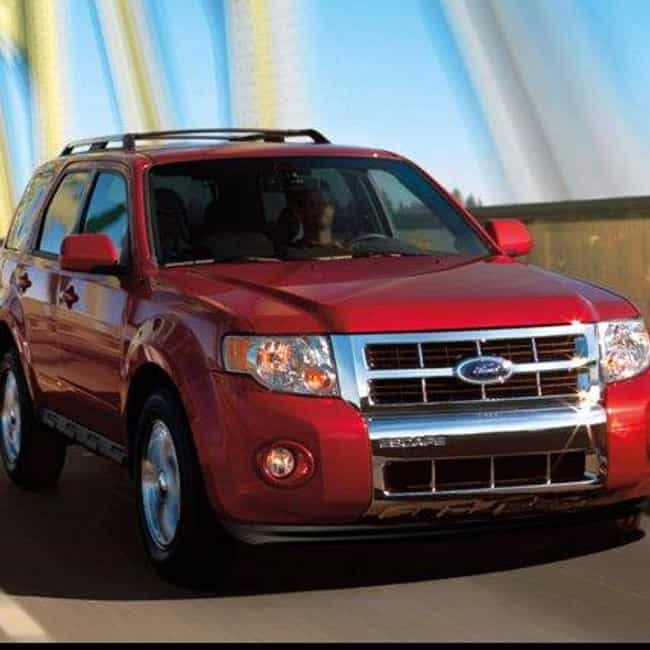 2011 Ford Escape is listed (or ranked) 4 on the list The Best Ford Escapes of All Time