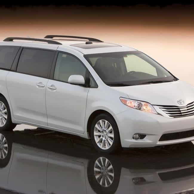 2011 Toyota Sienna is listed (or ranked) 1 on the list The Best Toyota Siennas of All Time