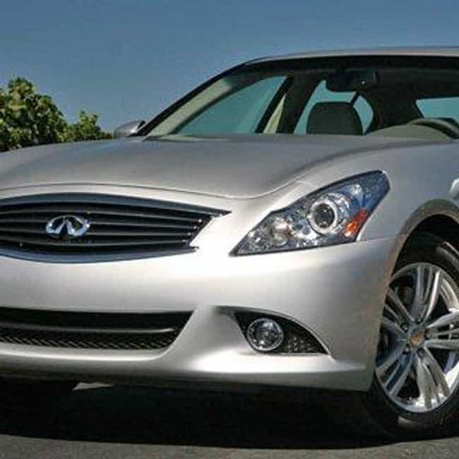 infiniti g25 is listed or ranked 2 on the list full list of infiniti