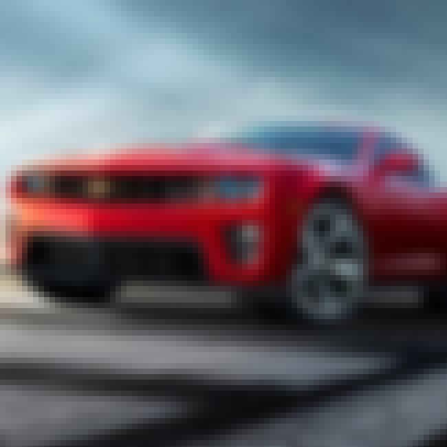 2012 Chevrolet Camaro Coupe is listed (or ranked) 1 on the list The Best 2012 Cars