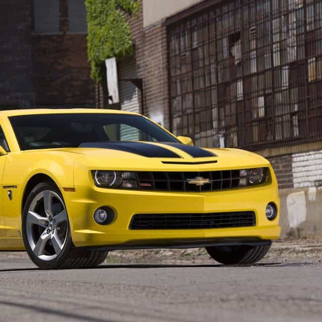 2011 Chevrolet Camaro Coupe is listed (or ranked) 3 on the list The Best Chevrolet Camaros of All Time