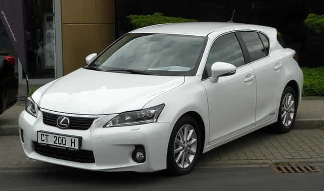 Lexus CT is listed (or ranked) 1 on the list Full List of Lexus Models