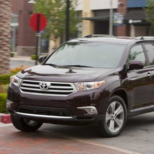 2011 Toyota Highlander ... is listed (or ranked) 4 on the list The Best Toyota Highlanders of All Time