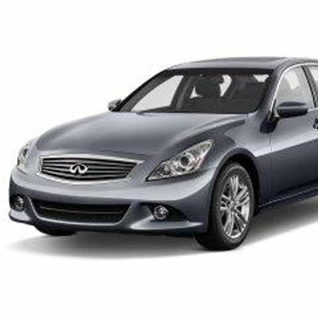 2011 Infiniti G37 Sedan ... is listed (or ranked) 7 on the list The Best Infiniti G37s of All Time