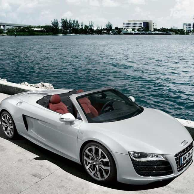 2010 Audi R8 Spyder is listed (or ranked) 1 on the list The Best Audi R8s of All Time