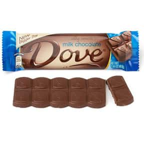 Dove Bar is listed (or ranked) 15 on the list The Best Chocolate Bars