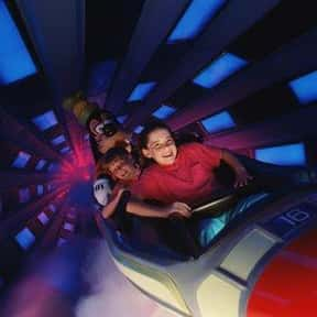 Space Mountain is listed (or ranked) 1 on the list The Best Rides at Disneyland