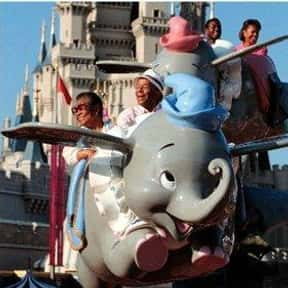 Dumbo the Flying Elephant is listed (or ranked) 22 on the list The Best Rides at Disneyland