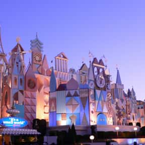 """it's a small world"" is listed (or ranked) 15 on the list The Best Rides at Disneyland"