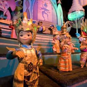 It's a Small World is listed (or ranked) 11 on the list The Worst Amusement Park Rides To Get Stuck On