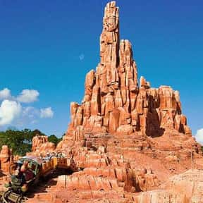 Big Thunder Mountain Railroad is listed (or ranked) 6 on the list The Best Rides at Disneyland
