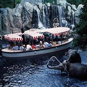 Jungle Cruise is listed (or ranked) 11 on the list The Best Rides at Disneyland