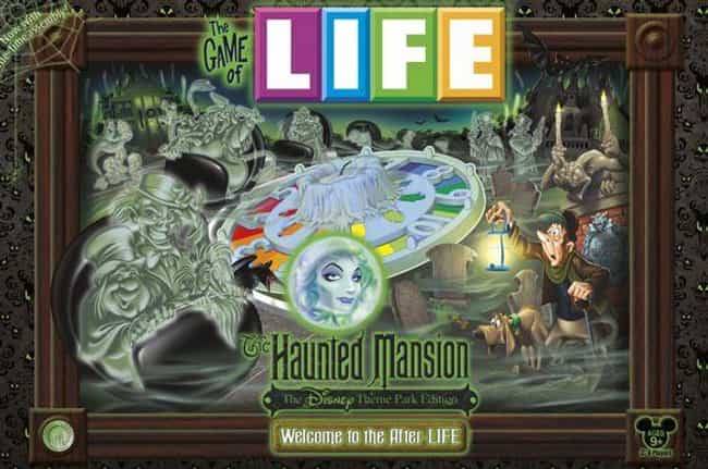 Haunted Mansion is listed (or ranked) 4 on the list The Best Editions of The Game of Life