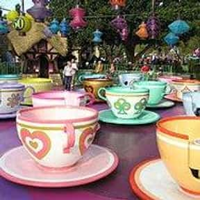 Mad Tea Party is listed (or ranked) 20 on the list The Best Rides at Disneyland