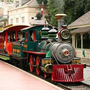 Disneyland Railroad is listed (or ranked) 19 on the list The Best Rides at Disneyland