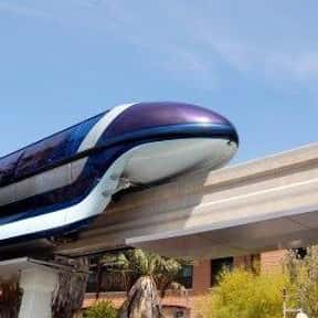 Disneyland Monorail System is listed (or ranked) 18 on the list The Best Rides at Disneyland