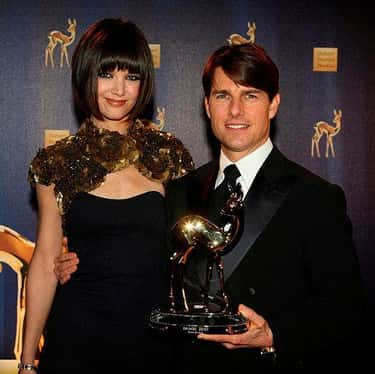 Tom Cruise and Katie Holmes is listed (or ranked) 6 on the list Celebrity Couples Where the Woman Is Taller