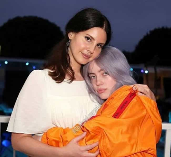 Lana Del Rey is listed (or ranked) 2 on the list The Many Famous Friends Of Billie Eilish