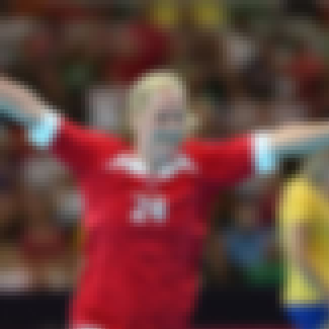 Berit Kristensen is listed (or ranked) 3 on the list Famous Handball Players from Denmark