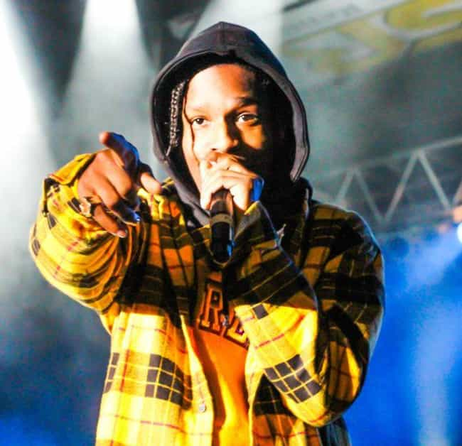 ASAP Rocky is listed (or ranked) 1 on the list The Best Dressed Rappers