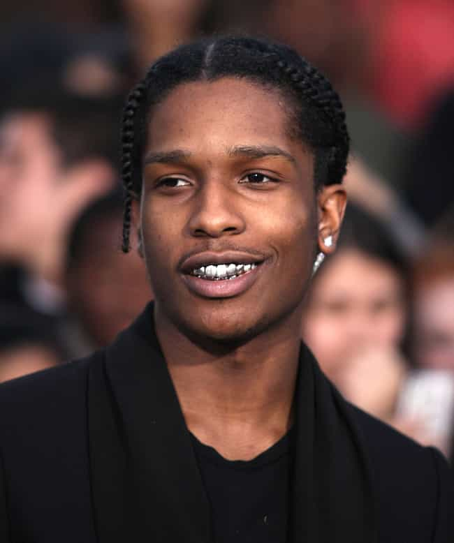 ASAP Rocky is listed (or ranked) 3 on the list The Best Dressed Rappers