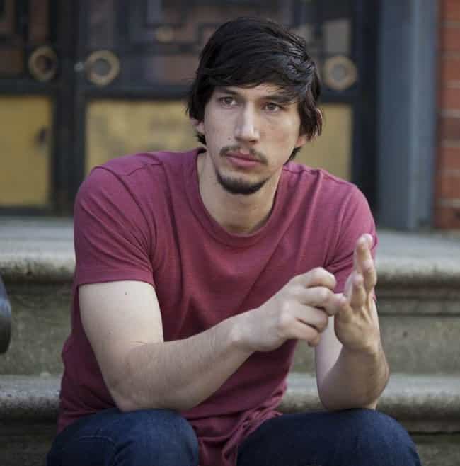 Adam Driver is listed (or ranked) 3 on the list Actors Who Are Only Hot Because Of The Characters They Play